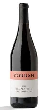2012 Curran Tempranillo-Santa Barbara County