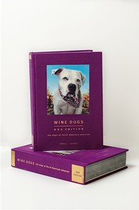 Wine Dogs USA, Hardcover book Image