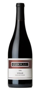 2006 Curran Syrah,   Black Oak Vineyard