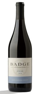 2014 BADGE Syrah, Santa Barbara County