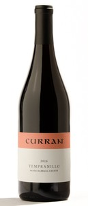 2016 Curran Tempranillo, Santa Barbara County